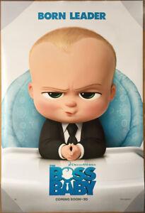 BOSS BABY MOVIE POSTER 2 Sided ORIGINAL INTL Advance 27x40 ...