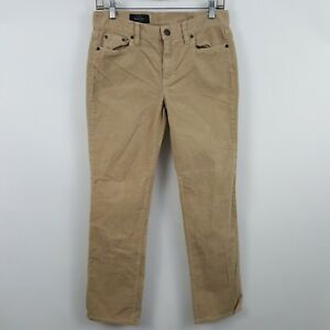 J-Crew-Boot-Cut-Brown-Women-039-s-Corduroys-Pants-Sz-27P-28-x-28