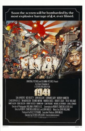 Movie Poster Print A0-A1-A2-A3-A4-A5-A6-MAXI 915 1979 1941 Steven Spielberg