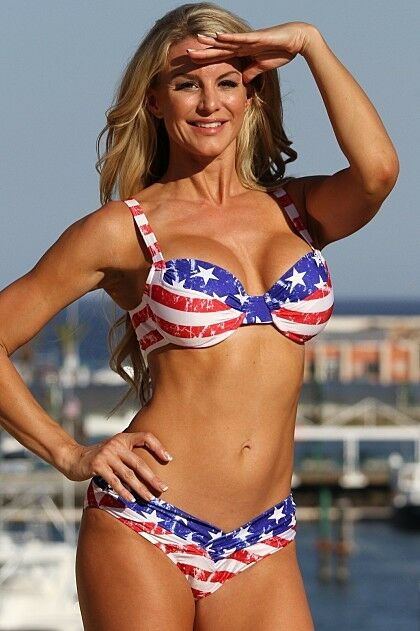 Bikini model national usa