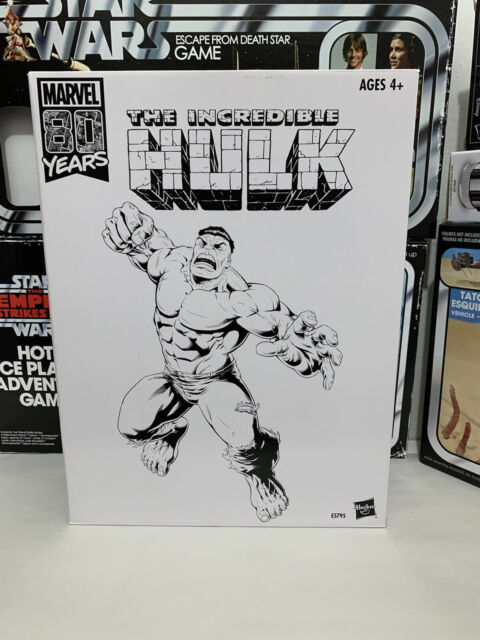 Marvel Legends 80th Anniversary Green Hulk SDCC 2019 Exclusive Action Figure New