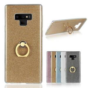 Shockproof-Soft-TPU-Rubber-Case-Cover-Ring-Grip-Holder-Stand-For-Samsung-Galaxy