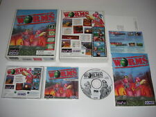 WORMS 1 Pc Cd Rom Original BIG BOX - FAST DISPATCH