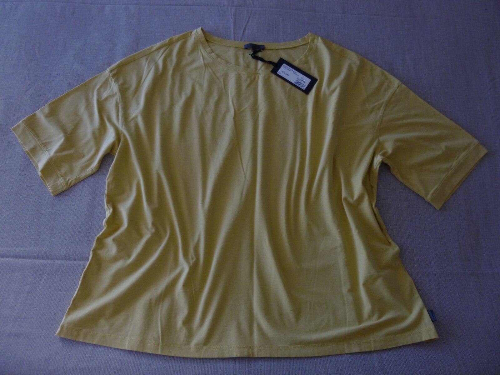 SALE  NWT OSKA  Beesche  1 2 Sleeve Raw Edge Detail Top - Größe 3 14 16UK RRP