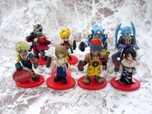 Final Fantasy X Complete 8 Coca Cola Figure Deformation Color Version