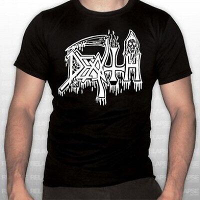DEATH -  OLD LOGO schwarzes T-Shirt XL  NEU