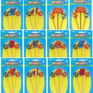 UK-Birthday-Cake-Toppers-Number-Candles-Party-Candle-Numbers-Set-Girl-Boy-0-9