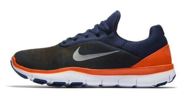 Wild casual shoes NEW Men's Price reduction NIKE Free Trainer V7 NFL AA1948-401 Denver Broncos