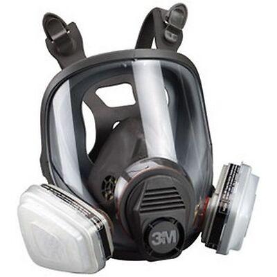 3M 7163 Full Facepiece Respirator Packout 07163, Organic Vapor/P95, Large