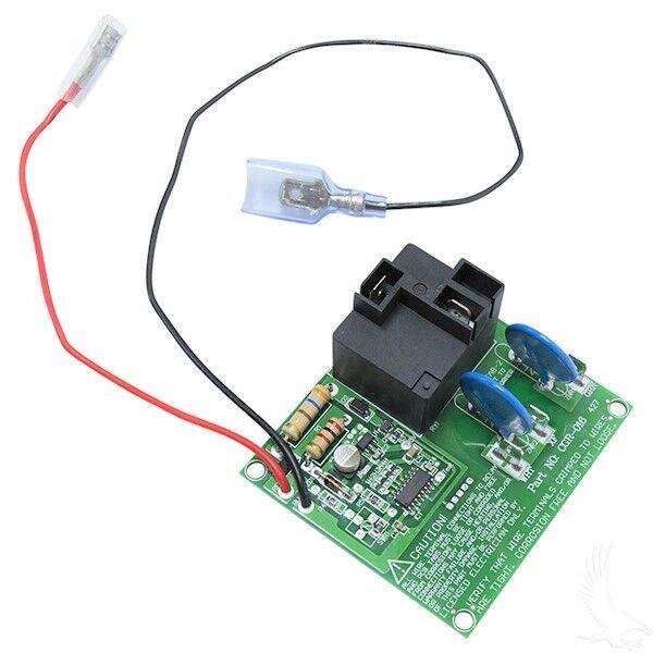 Entrada de alimentación de la placa EZGO Cochegador Cochegador Powerwise  de control 28667G01 TXT Medallista  precioso