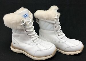 d17f0e33d1a Details about UGG Australia Adirondack III Quilt Waterproof Leather Snow  Boots 1098556 Quilted