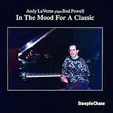 In The Mood For A Classic; Andy LaVerne 1994 CD,Jazz, Bud Powell, SteepleChase V