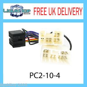 PC2-10-4-MAZDA-RX7-1992-a-2002-unita-di-testa-stereo-ISO-Cavo-adattatore-cablaggio