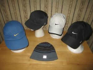 f38c4603401375 EUC lot of 5 women's ADIDAS & NIKE ball caps / beanie | eBay