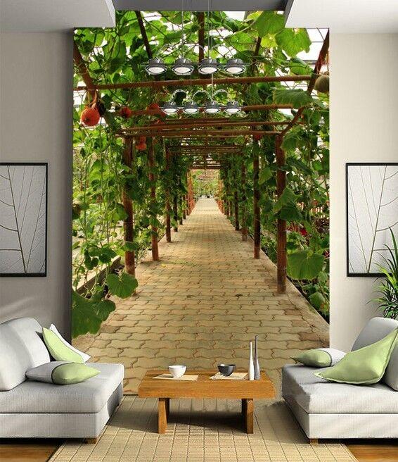 3D Grün vines art 5051 Paper Wall Print Decal Wall Wall Murals AJ WALLPAPER GB