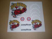 Mantua Stickers Good Year  Red Baron