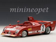 AUTOart 87504 ALFA ROMEO 33 TT 12 #2 1000km 1975 MONZA WINNER 1/18 MODEL CAR RED