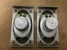 2 tweeter driver AlNiCo Loewe Opta DEW speaker vintage 1950ies