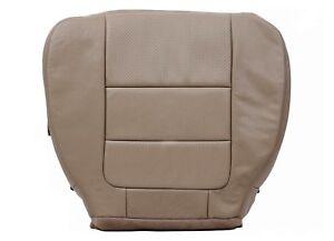2001-2003-F250-350-450-Lariat-XLT-X-Cub-Driver-Side-Bottom-Vinyl-Seat-Cover-TAN