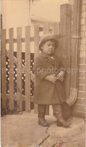 1920-039-s-Little-Kid-8-x-10-FOUND-PHOTO-Vintage-B-W-FREE-SHIPPING-Original-83-11