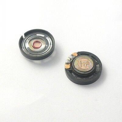 10pcs 0.25W 8Ohm Speaker External Magnetic Speaker Dia=27mm for Toy Aduio DIY