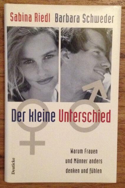 Der kleine Unterschied - Sabina Riedl Barbara Schweder 1997 Männer Frauen