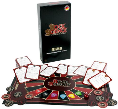 BRETTSPIEL TRIVIA // QUIZ deutsch Rock /& Metal Game - Pegasus ROCK SCIENCE™