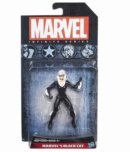 "Marvel Infinite Series 2015 BLACK CAT Loose 3.75/"" Figure Universe Hasbro"