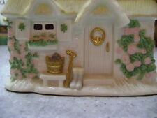 "LENOX The Irish Blessing Music Box, Plays: ""When Irish Eyes are smiling"" w/ COA"