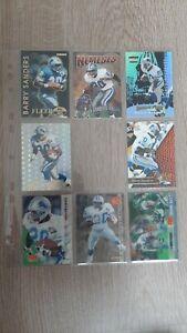 NFL - BARRY SANDERS - DETROIT LIONS - 22 CARTES FOOTBALL CARDS