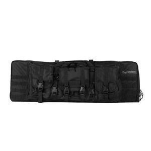 """Valken Protective Gun Case V Tactical Double Rifle 46"""" Carrying Bag Black"""