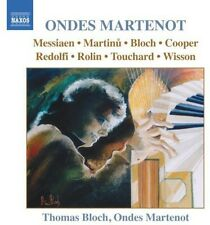 Thomas Bloch - Music for Ondes Martenot [New CD]