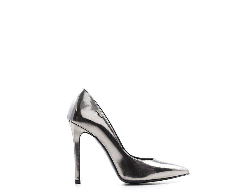 shoes LIU JO Woman Court shoes GREY Laminated S66101-04155