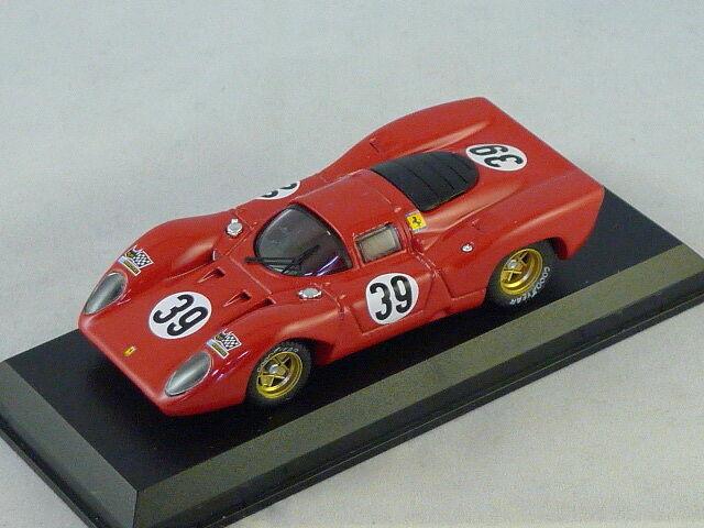 MODEL BEST 9438- FERRARI 312 P N 39 24H du Mans 1970 Posey 1/43