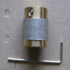 """1"""" STAINED GLASS GRINDER BIT HEAD 4 INLAND OR GLASTAR TOP QUALITY BRASS!"""
