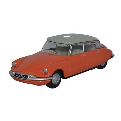 1:76 Corail - Oxford Miniature: Citroen Ds19 Gris Tourterelle Voiture Cadeau De
