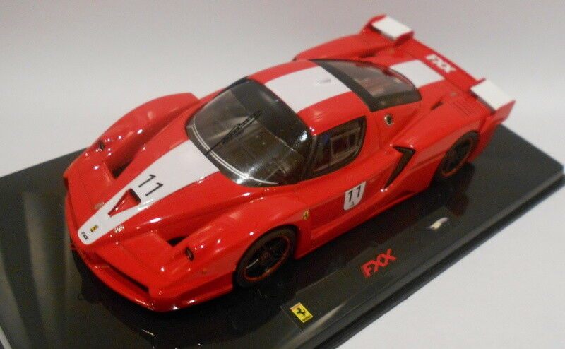 HOT WHEELS 1 43 Scale Diecast N5607 FERRARI FXX NO 11 RED