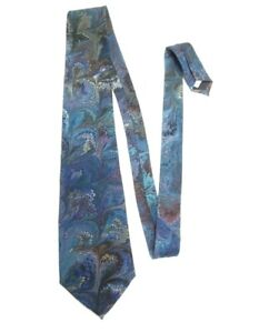 COSETTE-ORIGINALS-AUSTIN-TEXAS-HAND-MADE-MARBLEIZED-100-SILK-TIE-56-034-X-3-75-034
