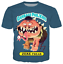 Women-Men-Cartoon-Garbage-Pail-Kids-3D-Print-T-ShirtCasual-Short-Sleeve-Tops thumbnail 15