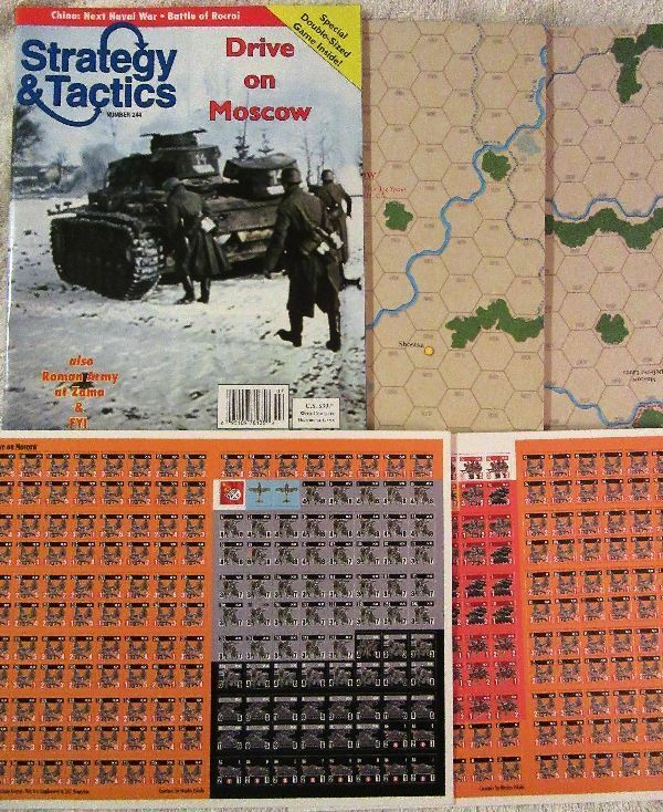 NEW, Strategy & Tactics  244 Drive on Moscow: Moscow: Moscow: Operation Typhoon, Autumn 1941 d29393