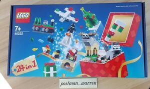 LEGO-Exclusive-Christmas-Build-Up-40222-24-in-1-Holiday-Countdown-In-Stock