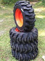 10-16.5 Galaxy Muddy Buddy Skid Steer Tires/wheels/rims For Bobcat 10x16.5