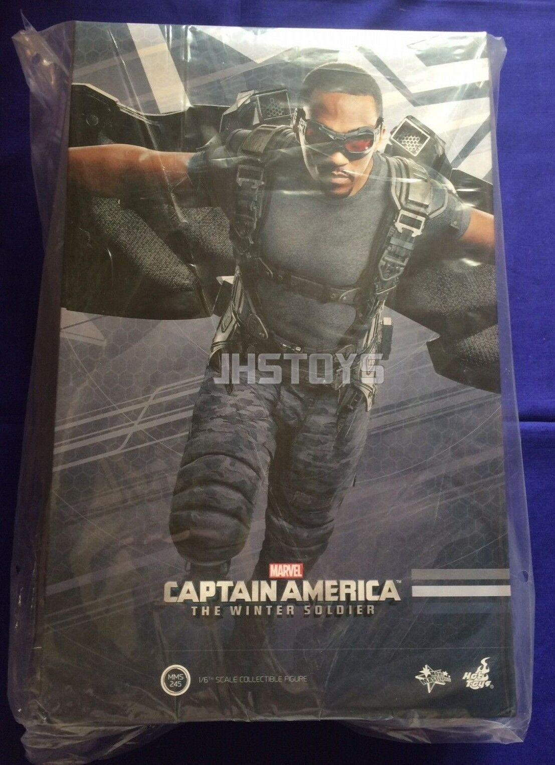 Hot Toys 1 6 Captain America The Winter Soldier Falcon MMS245