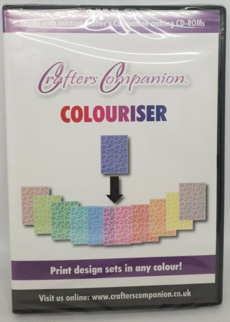 Crafter's Companion - Colouriser - PC CD ROM - Paper Craft Card Making