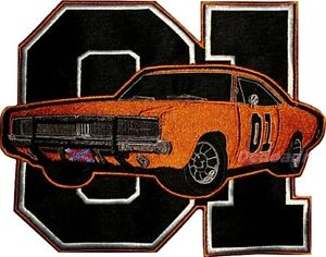 The-Dukes-of-Hazzard-Embroidered-Big-Patch-General-Lee-Car-01-Logo-Bo-Luke-Rosco