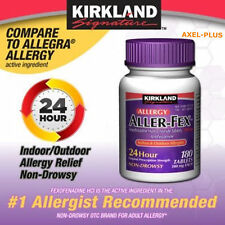 Kirkland Signature Aller-fex Allergy Relief 180mg 150 Tablets
