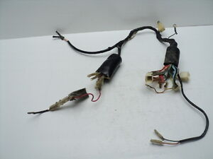 4119 suzuki tc125 tc 125 electrical wiring harness loom image is loading 4119 suzuki tc125 tc 125 electrical wiring harness