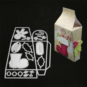 Stanzschablone-Stiefel-Stock-Blatt-Geburtstag-Weihnachten-Hochzeit-Karte-Album