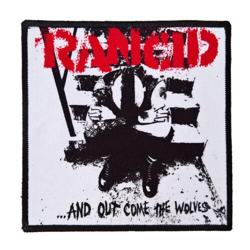 Rancid textile printed patch diy sew on battle jacket ska rock street punk pop