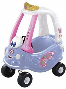 Ride ons for kids little tikes cozy coupe fairy pink girls car ebay - Little tikes cozy coupe pink ...